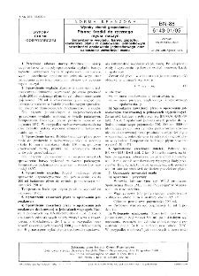 Wyroby chemii gospodarczej - Płynne środki do ręcznego mycia naczyń - Sprawdzanie wyglądu, barwy, zapachu, zawartości płynu w opakowaniu jednostkowym i szczelności opakowania jednostkowego oraz oznaczanie zawartości osadu BN-88/6143-01/05