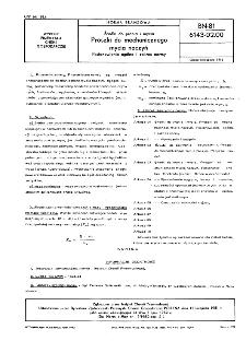 Środki do prania i mycia - Proszki do mechanicznego mycia naczyń - Postanowienia ogólne i zakres normy BN-81/6143-02.00