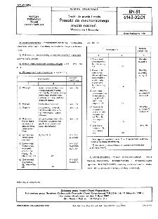 Środki do prania i mycia - Proszki do mechanicznego mycia naczyń - Wymagania i badania BN-81/6143-02.01