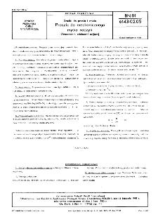 Środki do prania i mycia - Proszki do mechanicznego mycia naczyń - Oznaczanie zdolności myjącej BN-81/6143-02.05