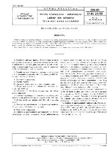 Wyroby kosmetyczne i perfumeryjne - Lakier do włosów - Oznaczanie suchej pozostałości BN-86/6145-24/08