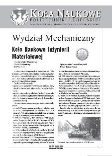 Biuletyn informacyjny Politechniki Lubelskiej 1(5)/2001 : dodatek specjalny : Koła naukowe Politechniki Lubelskiej
