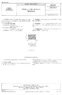 Wzierniki z zamkiem krzyżowym - Sprężyna BN-68/3813-64