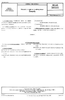 Wzierniki z zamkiem dwudźwigniowym - Zespoły BN-68/3813-66