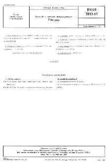 Wzierniki z zamkiem dwudźwigniowym - Pokrywy BN-68/3813-67
