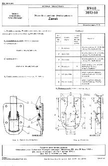 Wzierniki z zamkiem dwudźwigniowym - Zamek BN-68/3813-68