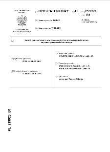 Sposób transportowania wód opadowych przez przewyższenie terenowe za pomocą urządzenia lewarowego : opis patentowy nr 219923