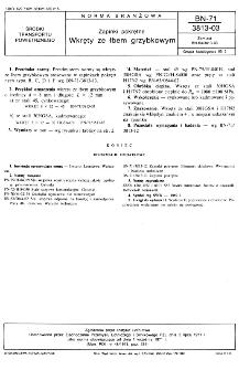 Zapinki pokrętne - Wkręty ze łbem grzybkowym BN-71/3813-03