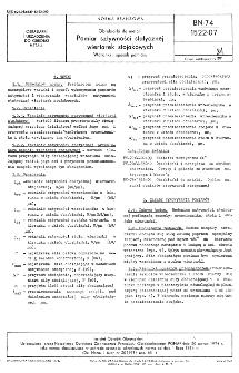 Obrabiarki do metali - Pomiar sztywności statycznej wiertarek stojakowych - Warunki i sposób pomiaru BN-74/1522-07