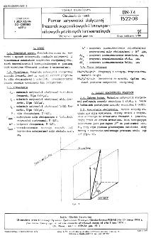 Obrabiarki do metali - Pomiar sztywności statycznej frezarek wspornikowych i bezwspornikowych poziomych i uniwersalnych - Warunki i sposób pomiaru BN-74/1522-08