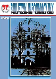 Biuletyn informacyjny Politechniki Lubelskiej 1(7)/2002