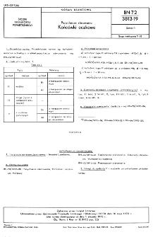 Popychacze sterowania - Końcówki oczkowe BN-72/3813-19