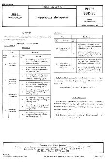 Popychacze sterowania BN-72/3813-25