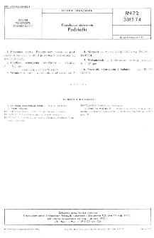 Popychacze sterowania - Podkładki BN-72/3813-74