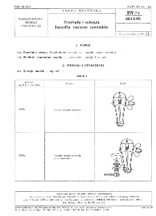 Przyrządy i uchwyty - Imadła ręczne szerokie BN-75/4613-01