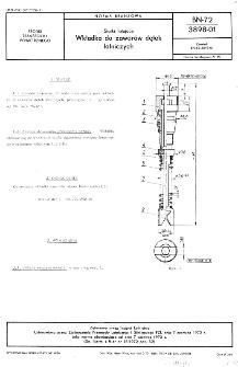 Statki latające - Wkładka do zaworów dętek lotniczych BN-72/3898-01