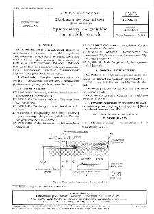 Eksploatacja złóż ropy naftowej i gazy ziemnego - Sprawdziany do gwintów rur wydobywczych BN-73/0486-10