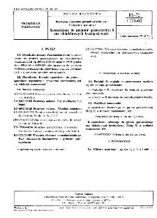 Wiercenia obrotowe normalnośrednicowe - Połączenia gwintowe - Sprawdziany do gwintów gazoszczelnych rur okładzinowych bezzłączkowych BN-72/1779-02