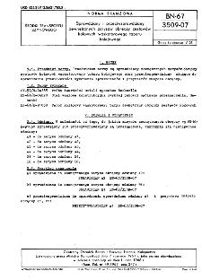 Sprawdziany i przeciwsprawdziany zewnętrznych zarysów obręczy zestawów kołowych wąskotorowego taboru kolejowego BN-67/3509-07