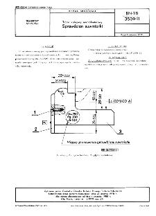 Tabor kolejowy normalnotorowy - Sprawdzian suwmiarki BN-78/3509-11