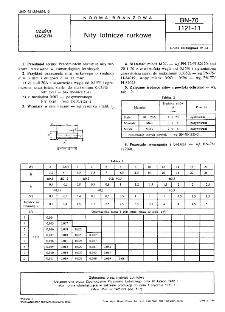 Nity lotnicze rurkowe BN-70/1121-11