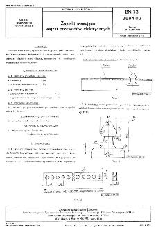 Zapinki mocujące wiązki przewodów elektrycznych BN-73/3884-02
