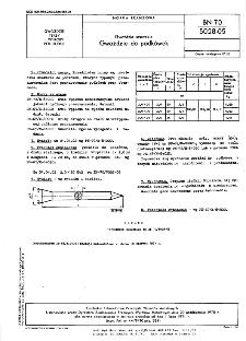 Gwoździe szewskie - Gwoździe do podkówek BN-70/5028-05