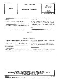 Gwoździe zawiasowe BN-77/5028-14