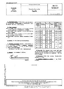 Gwoździe formierskie - Szpilki BN-70/5028-27