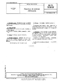 Gwoździe do instalacji elektrycznej BN-70/5028-28
