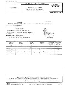 Gwoździe budowlane - Gwoździe sufitowe BN-77/5028-33