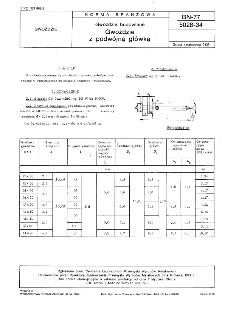 Gwoździe budowlane - Gwoździe z podwójną główką BN-77/5028-34