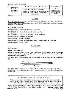 Wyroby azbestowo-cementowe - Elementy metalowe do mocowania płyt płaskich i falistych - Wymagania techniczne BN-68/6793-01