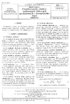 Silniki lotnicze - Charakterystyki silników spalinowych tłokowych sprężarkowych i bezsprężarkowych - Określenia BN-74/1361-04