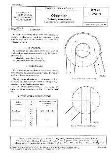 Obrotnice - Podział, określenia i parametry podstawowe BN-73/1723-09