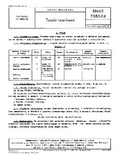 Teczki rysunkowe BN-65/7383-04