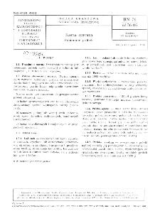 Kawa surowa - Pobieranie próbek BN-76/8136-06