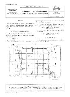 Pomocniczy sprzęt przeładunkowy - Siatki ładunkowe włókienne BN-74/2197-09