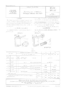Pomocniczy sprzęt przeładunkowy - Uchwyty hakowe do blach BN-84/2197-10