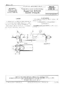 Pomocniczy sprzęt przeładunkowy - Rozpornice belkowe zawiesi linowych BN-86/2199-05