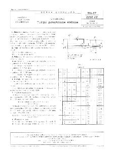 Chłodnictwo - Tulejki przejściowe stalowe BN-87/2553-22