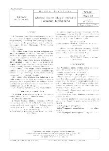 Włókno lniane długie trzepane i czesane biologiczne BN-91/7522-01