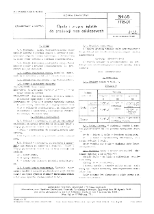 Opoły i zrzyny iglaste do produkcji mas celulozowych BN-68/7118-01