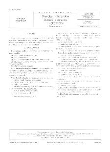 Wyroby futrzarskie - Odzież skórzana i rękawiczki - Znakowanie BN-80/7750-01
