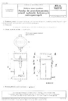 Kolejowy sprzęt sygnałowy - Puszka do przechowywania petard (spłonek) kolejowych ostrzegawczych BN-76/9315-18
