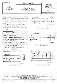 Zawiasy taśmowe - Skrzydła podwójne BN-78/3813-34