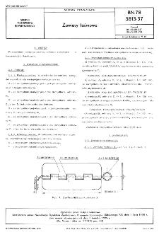 Zawiasy taśmowe - BN-78/3813-37