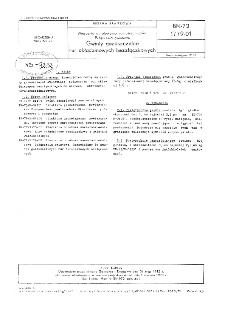 Wiercenia obrotowe normalnośrednicowe - Połączenia gwintowe - Gwinty gazoszczelne rur okładzinowych bezzłączkowych BN-72/1779-01
