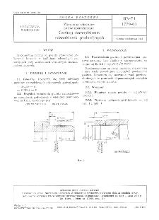 Wiercenia obrotowe normalnośrednicowe - Gwinty narzędziowe rdzeniówek podwójnych BN-74/1779-03