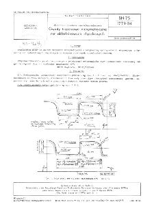 Wiercenia obrotowe normalnośrednicowe - Gwinty trapezowe niesymetryczne rur okładzinowych złączkowych BN-75/1779-04